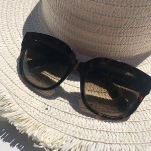Bobbi Brown Faux Tortoise Sunglasses